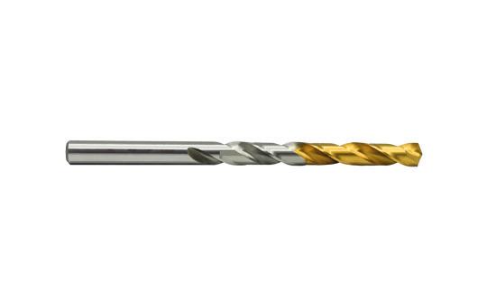 HSS-E Spiralbohrer DIN338 RN Ø1 - glatter Schaft - beschichtet