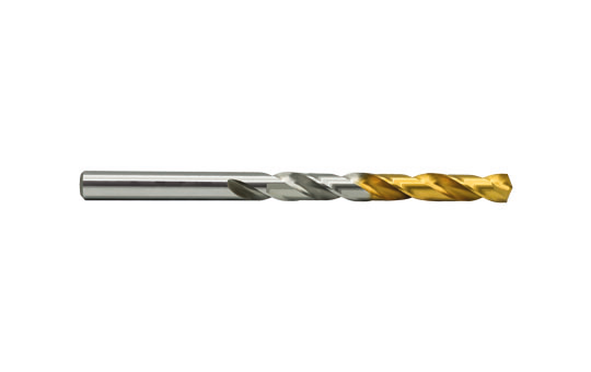 HSS-E Spiralbohrer DIN338 RN Ø1,4 - glatter Schaft - beschichtet